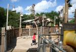 The Boneyard in Dinoland USA at Disney Animal Kingdom