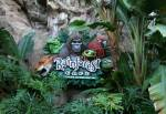 Rain Forest Cafe in Oasis at Disney Animal Kingdom