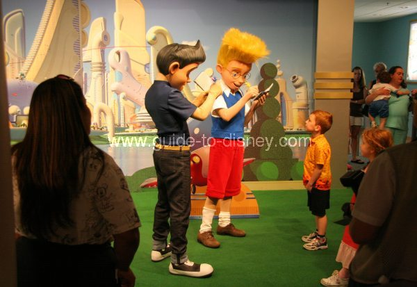 Guide to disney world meet the robinsons character greet at the meet the robinsons character greet at the magic of disney animation in the animation courtyard at disneys hollywood studios m4hsunfo