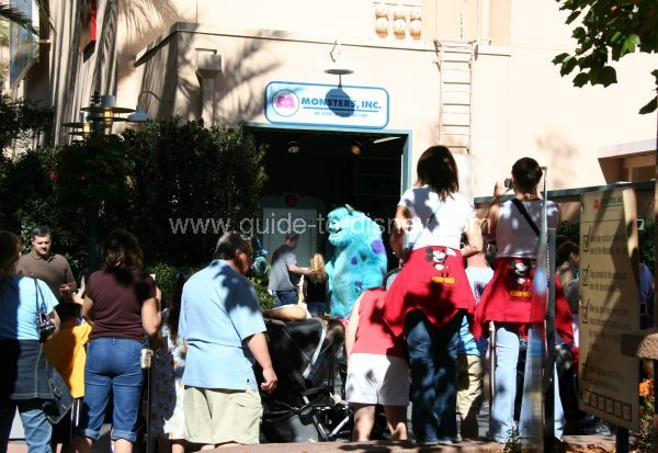 Guide to Disney World - Monsters Inc Character Greet on Commissary