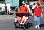 Disney's Hollywood Studios Double Pushchair Stroller