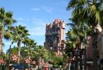 Twilight Zone Tower of Terror at the Hollywood Tower Hotel on the Sunset Boulevard of Disney's Hollywood Studios
