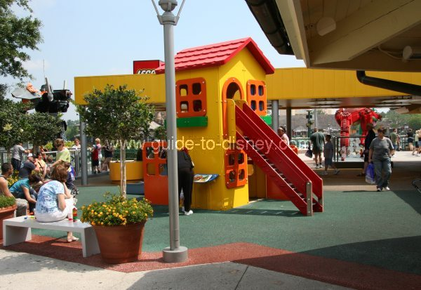 Guide to Disney World - Lego Imgination Center in Downtown Disney