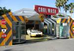 Cool Wash at Test Track of Future World in Disney Epcot