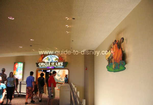 Guide To Disney World The Circle Of Life From The Lion