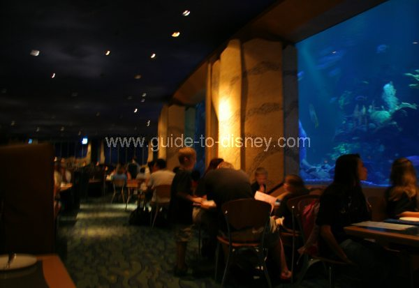 Guide To Disney World Coral Reef Restaurant At The