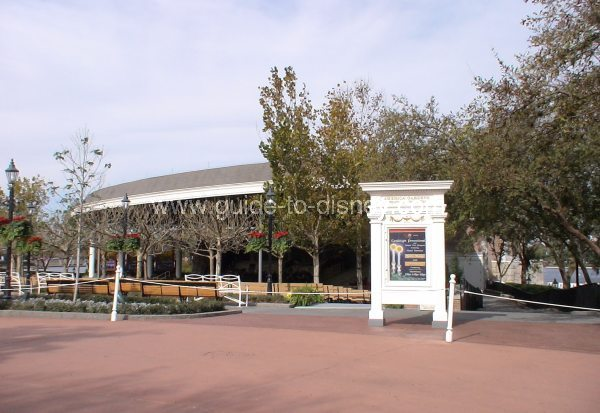 Guide To Disney World The American Gardens Theater At