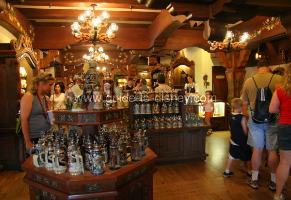 Guide To Disney World Volkskunst Shop In Germany At The