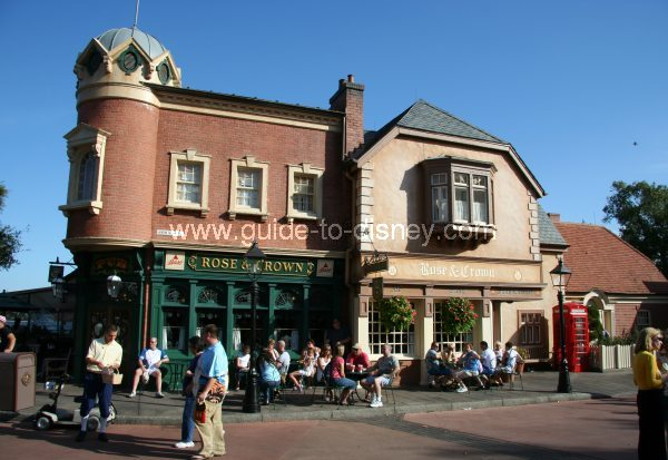 Guide To Disney World Crown And Rose Pub In The United