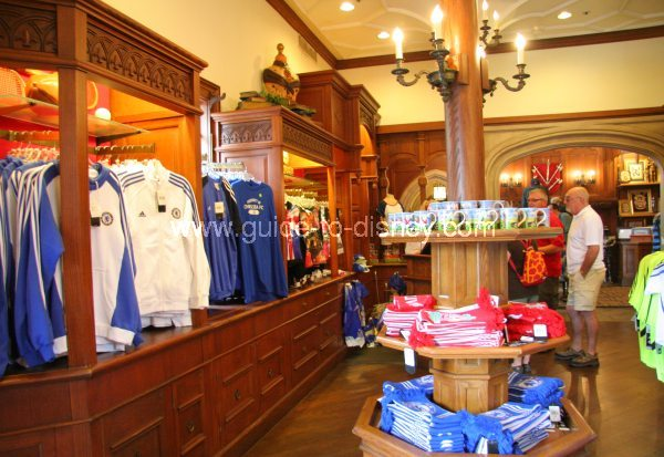 Sportsman Shoppe In United Kingdom Of The World Showcase At Disney Epcot