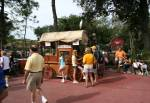 Snack Wagon in Frontierland at Disney Magic Kingdom