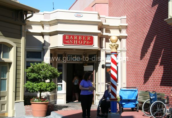 Barber Shop On Main : Guide to Disney World - Barber House on Main Street USA at Disney ...
