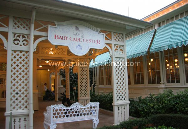 Guide to Disney World - Baby Care Center off Main Street ...