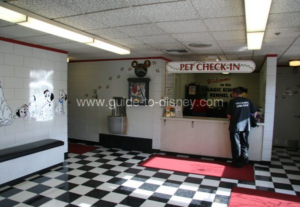 Guide to disney world disney magic kingdom pet care for Dog boarding at disney world