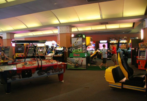 Car Traders Com >> Guide to Disney World - Tomorrowland Video Arcade in