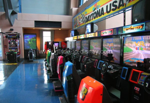 Guide To Disney World Tomorrowland Video Arcade In