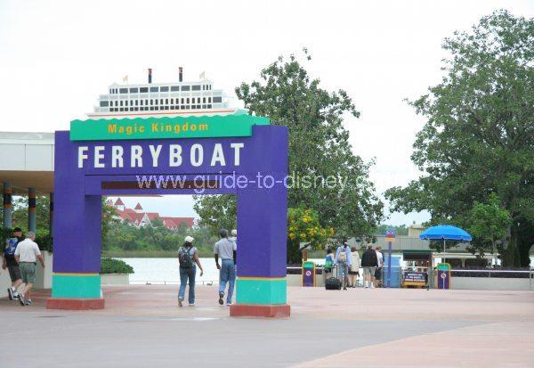 magic kingdom pictures. Magic Kingdom Ferry at the