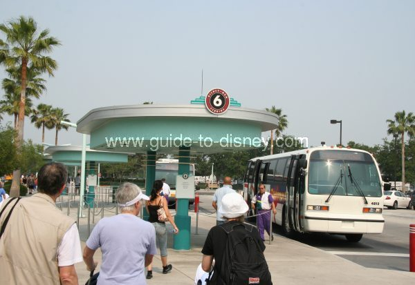 how to go from epcot to hollywood studios
